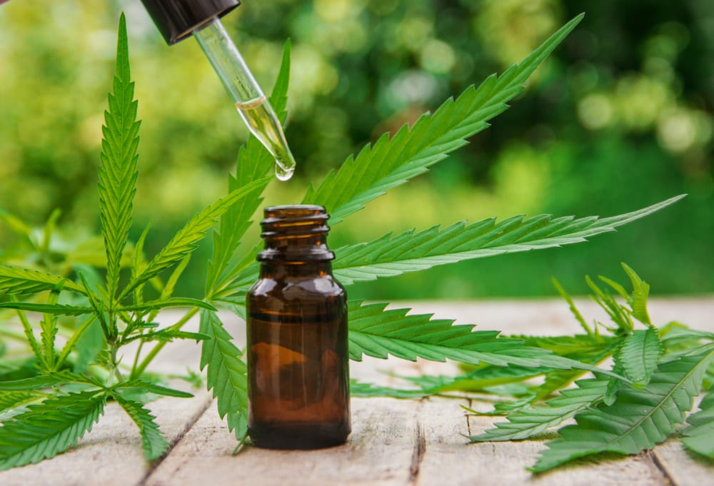 using a cannabis tincture