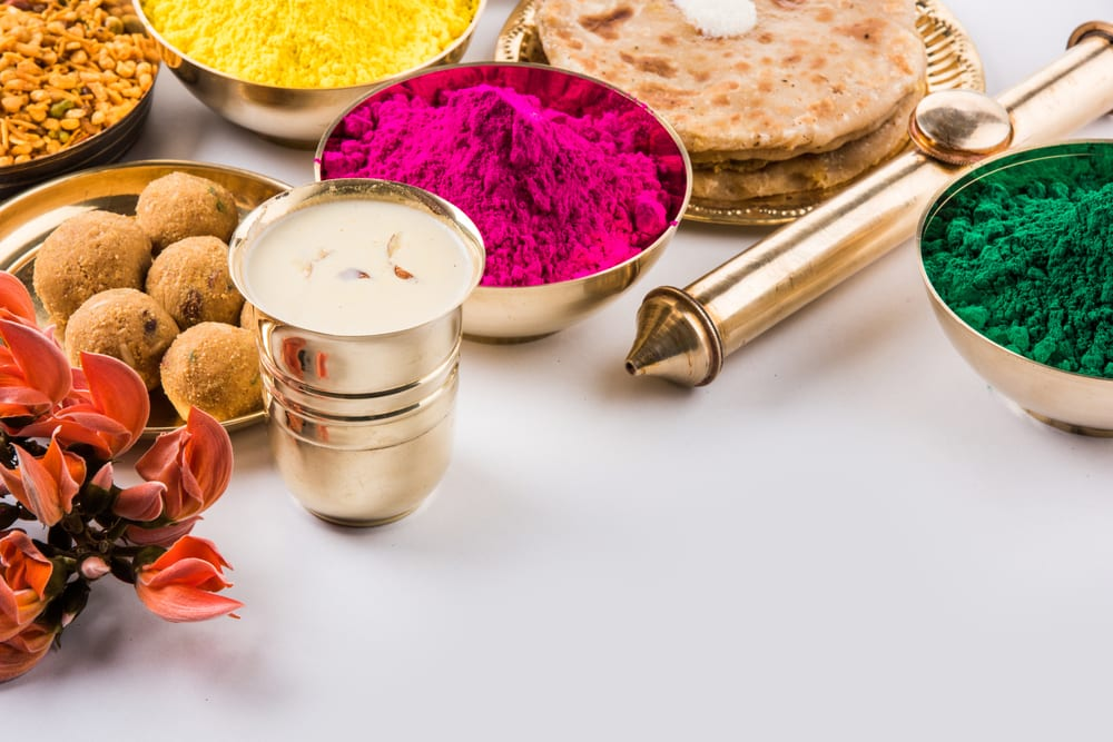 what is bhang in a cup before Holi