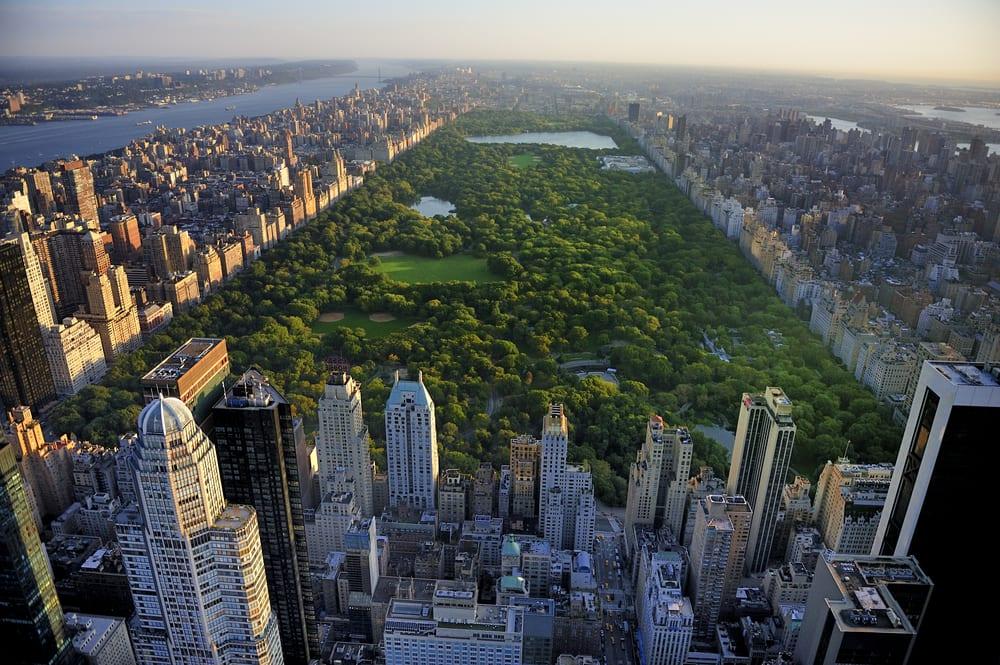 City Park in Manhattan and DA implement