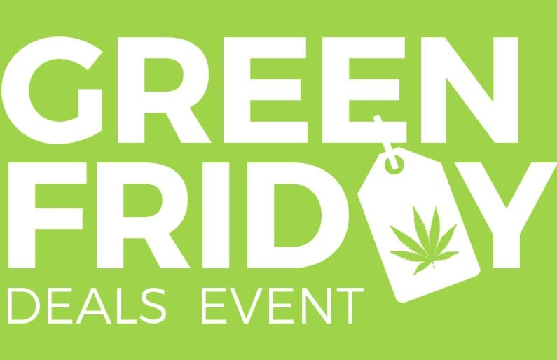 green friday marijuana deals header 2018