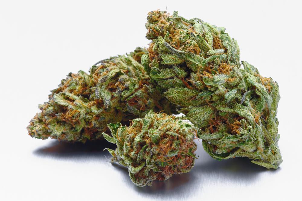 marijuana flower stack